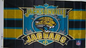 JACKSONVILLE JAGUARS LICENSED NFL FLAG EZ 3X5 ft NEW BANNER