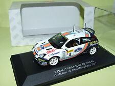 FORD FOCUS RS WRC MONTE CALO 2001 Mc RAE VITESSE SKM187