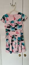 Ted Baker girls kids pink floral jumpsuit 12 years old
