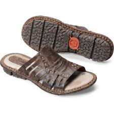 Born Laramie Dark Brown 6 Womens Sandals
