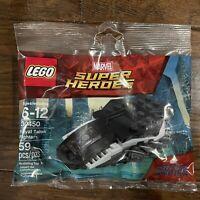 New! Lego Marvel Super Heroes Black Panther Royal Talon Fighter - 30450 Polybag
