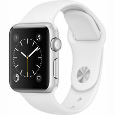 New Apple Watch 38mm Silver Aluminum Case White Sport Band (MNNG2LL/A) SEALED