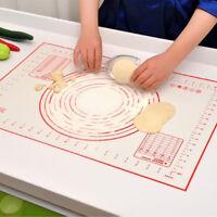 Non-Stick Silicone Baking Mat Pad Sheet Rolling Dough for Cake Kitchen Tool BIN
