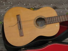 Vintage Classical / Flamenco / Folk Acoustic Guitar Handmade in Mexico Candelas