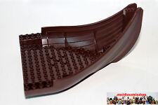 Lego® Boots Schiffsrumpf Front dunkelbraun darkbrown 16X20 53452 aus Set 7048