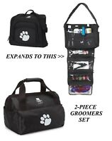 Top Performance Groomer DUFFLE&TOTE BAG SET-Tool Clipper Blade Accessory Storage