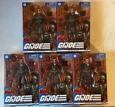 Lot Of 5 G I JOE Classified Series Cobra Island Major Bludd In Hand VHTF L?K