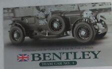 Franklin Mint Brochure 1929 Bentley Supercharged Racer