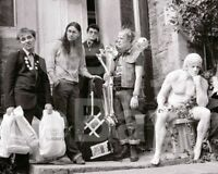 The Young Ones (TV) Ade Edmonson Chris Ryan Nigel Planer Rik Mayall 10x8 Photo