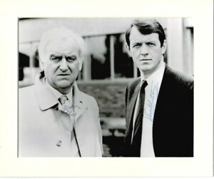 JOHN THAW AND KEVIN WHATELY INSPECTOR MORSE MOUNTED AUTOGRAPHED PHOTOGRAPH *2