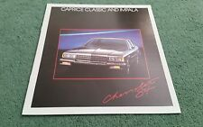 1984 CHEVROLET CAPRICE CLASSIC & IMPALA USA 7/83 LARGE BROCHURE