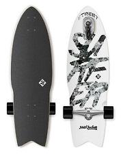 "Street Surfing SHARK ATTACK Skateboard Casterboard Surf Carving Cruiser 9"" x 30"""
