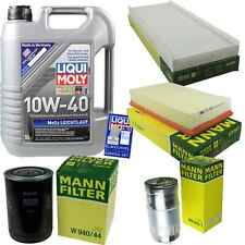 Inspection Kit Filter LIQUI MOLY Oil Oil 5L 10W-40 for Audi Cabriolet 8G7 B4