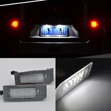 2x Bright White 18-LED License Plate Lights For Mitsubishi ASX Outlander 2013 up
