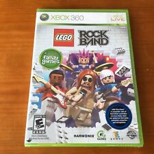 NEW SEALED LEGO Rock Band (Microsoft Xbox 360, 2009)