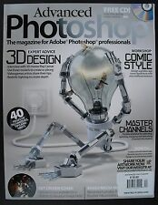 3D DESIGN - EXPERT ADVICE Advanced Photoshop No.40 + LOADED CD! Master Channels