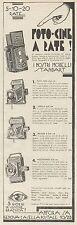 Z3095 Cameras baldax & piccochich-Advertising - 1933 OLD ADVERT