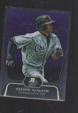 KEENYN WALKER  2012 BOWMAN PLATINUM PROSPECTS PURPLE REFRACTOR CARD#BPP37