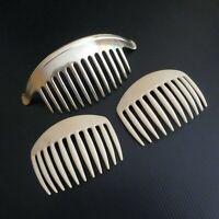 3 peignes à cheveux vintage accessoire coiffure mode femme made in France N5687