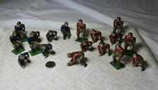 Harvard Yale Football Players Game Lead 1920s Japan Rare 10 Red 9 Blue