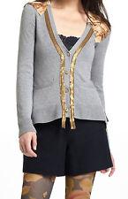 Yellow Bird Vermeil Streams Cardigan Sweater Size Medium NW ANTHROPOLOGIE Tag