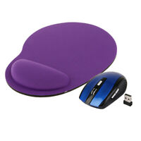 2.4GHz Wireless Optical Mouse Cordless Mice USB Receiver +Mousepad for PC