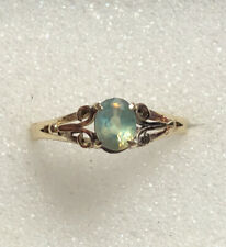14kt .50ct Natural Alexandrite Vintage Yellow Gold Ring