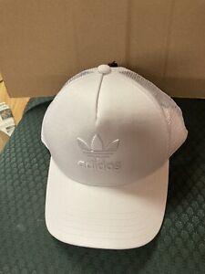 ADIDAS TREFOIL TRUCKER SNAPBACK ADJUSTABLE HAT SIZE NEW TAGS CAP