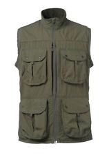 Cotton Patternless Waistcoats for Men