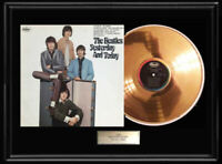 THE BEATLES YESTERDAY & TODAY FRAMED LP GOLD METALIZED RECORD NON BUTCHER RARE
