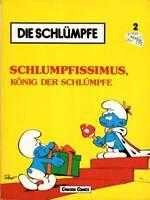 Die Schlümpfe von Peyo, Bd. 2 Schlumpfissimus, Carlsen 1982