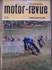 Tschechoslowakische MOTOR REVUE  6 - 1977 Salon Genf Skoda S120 Eisspeedway-WM