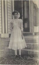 ca.1910 Real Photo postcard - Louise Miller, Pickle Hill Farm, Ft. Plain, NY