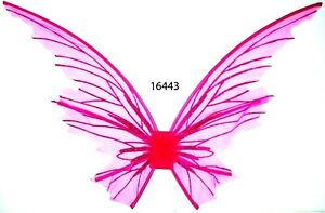 Pink Mystical Fairy Angel Wings Fancy Halloween Cosplay Costume Accessory Wing