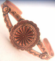 Copper Bracelet Wheeler Manufacturing Concho Healing Arthritis Folklore cb 090