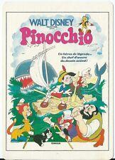 """CPM -Carte postale  WALT-DISNEY  Affiche de film"""" PINOCCHIO """" POSTCARD"""