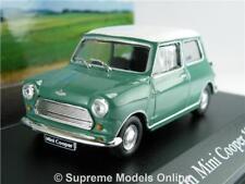 AUSTIN MORRIS MINI COOPER MODEL CAR 1:43 SIZE 1961 IXO GREEN MYTHIQUES ALMOND R0
