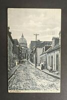 1906 St James Cathedral Montreal Canada Picture Postcard Cover to Chicago USA