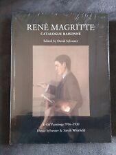 René Magritte, Catalogue Raisonné vol 1 Oil Paintings 1916-30, neuf sous blister