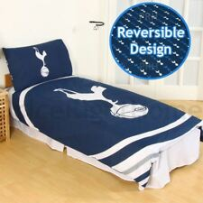 TOTTENHAM HOTSPUR FC PULSE SINGLE DUVET COVER AND PILLOWCASE SET OFFICIAL NEW
