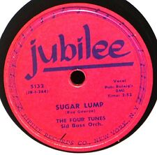 Four Tunes Sugar Lump I Understand Just How You Feel 78 R&B Pop Vocal Plays Well