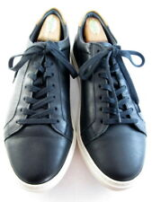 "NEW Allen Edmonds ""COURTSIDE"" Low-Top Leather Dress Sneakers 11 D Black (676)"