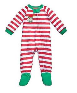 Family Pajamas 1-Pc Elfing Around Footed Pajamas,12 M