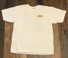 """Vintage 90s Powerbar """"Be Bold� Bicycle Promotional T Shirt Lance Armstrong Rare"""