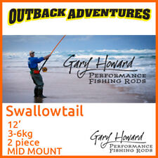 Gary Howard Swallowtail 12' Fishing Rod 12ft 3-6kg 2 Piece Mid Mount