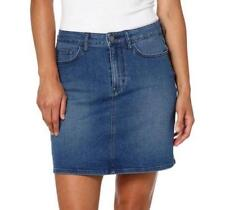 9eb789fcd92a0 Calvin Klein Jeans Women s 5 Pocket Denim Skirt Moonlight Dusk Blue Size 4
