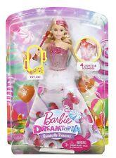 Mattel DYX28 DREAMTOPIA Barbie Bonbon Licht Musik Prinzessin Sweetville Princess