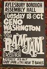 GENO WASHINGTON & THE RAM JAM ASSEMBLY HALL AYLESBURY UK 1966 ORIGINAL POSTER