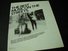 ANIMOTION Van Morrison RICHARD THOMPSON Velvet Underground more 1986 PROMO AD