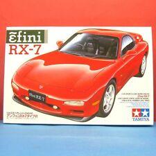Tamiya 1/24 Ẽfini RX-7 (Mazda Efini) model kit #24110